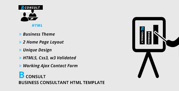 B CONSULT - Business Consultant HTML Template            TFx