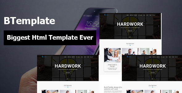 BTemplate Corporate Agency Business and Startup Responsive HTML5 Template            TFx