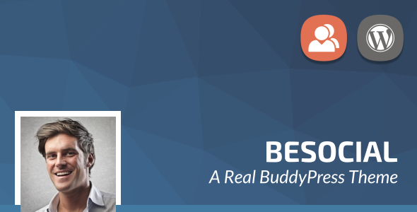 Besocial - BuddyPress Social Network & Community WordPress Theme            TFx