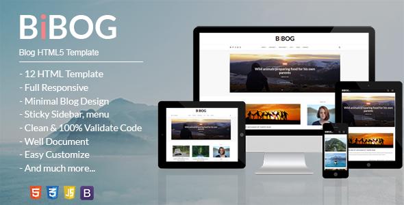 BiBOG - Blog HTML5 Template            TFx