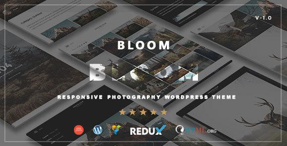 Bloom - Responsive Photography / Portfolio WordPress Theme            TFx