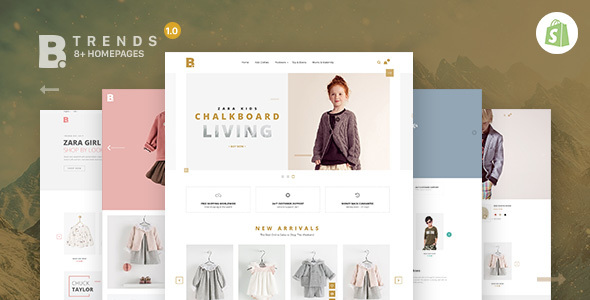 Btrend - Drag And Drop Responsive Shopify Theme            TFx