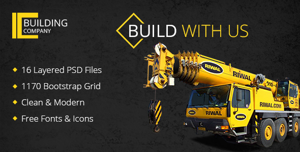 Build With Us – PSD Template            TFx