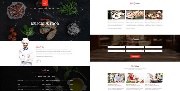 Cafe Resto - A WordPress Restaurant, Cafe Theme            TFx