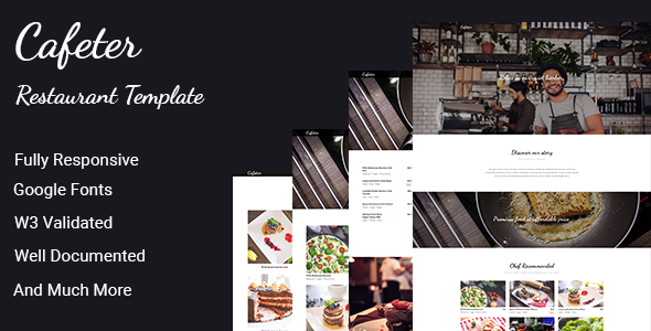 Cafeter - Food & Resturant HTML Template            TFx