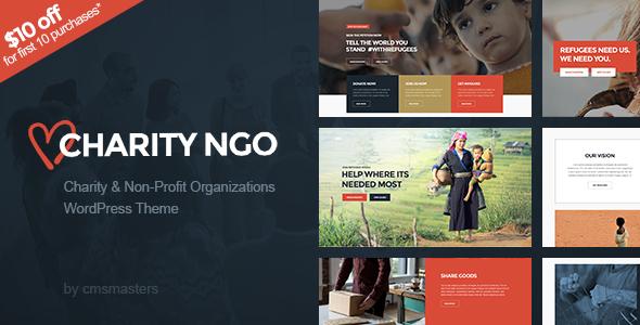 Charity NGO - Donation & Nonprofit NGO Charity WordPress Theme            TFx