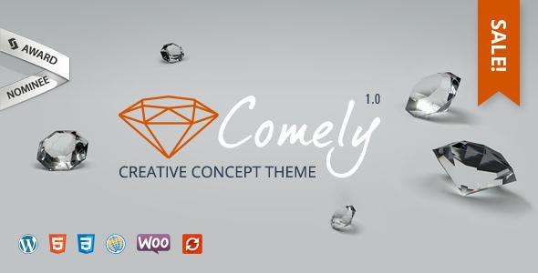 Comely | Creative Concept Theme            TFx