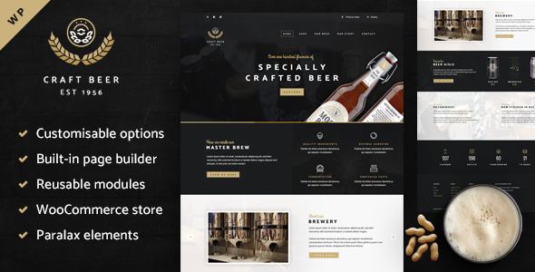 Craft Beer Nation- WooCommerce Theme            TFx