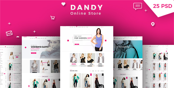 DANDY - Multi-Purpose eCommerce PSD Template            TFx