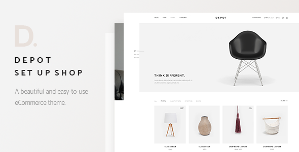 Depot - A Contemporary Theme for eCommerce            TFx