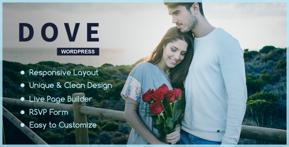 Dove - One Page WordPress Theme            TFx