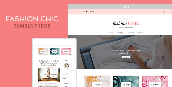Fashion Chic Tumblr Theme            TFx