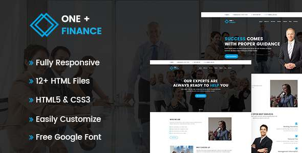 Finance Business HTML Template            TFx