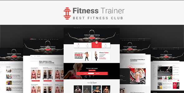 Fitness Trainer-PSD Template            TFx