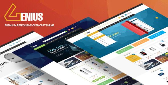 Genius – Multipurpose Responsive Opencart Theme            TFx