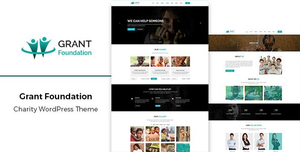 Grant - Responsive Charity WordPress Theme            TFx