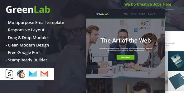 GreenLab Multipurpose Email Template            TFx