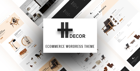 H Decor - Creative WP Theme for Furniture Business Online            TFx