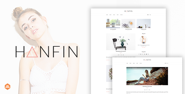 Hanfin - Personal & Clean Blog Template            TFx