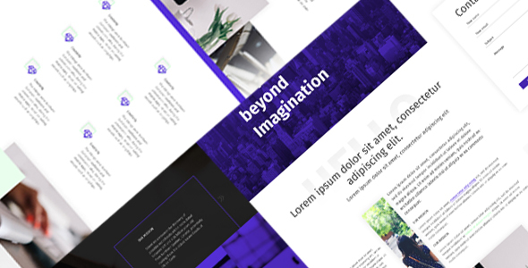 Hekko - One Page Creative PSD Template            TFx