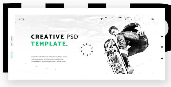 Hippo - Creative Agency PSD Template            TFx