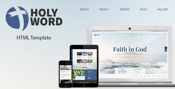 Holy Word – Church, Religion, Events Site Template            TFx