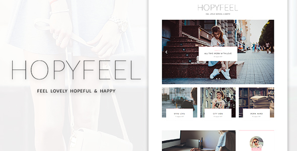 Hopyfeel - Personal Blog HTML Template            TFx