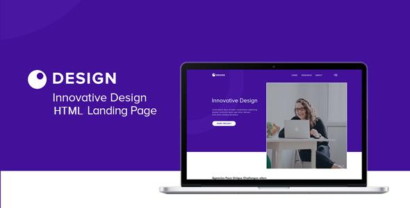 Innovative – HTML5 Landing Page            TFx