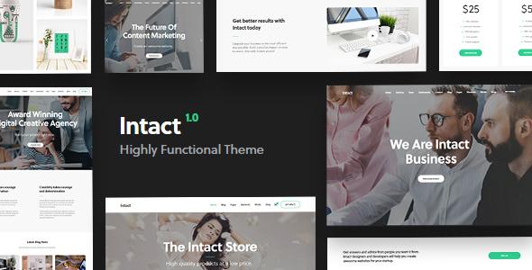 Intact - Premium Multi-Purpose WordPress Theme            TFx