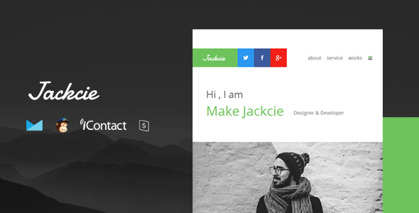Jackcie Mail - Responsive E-mail Template + Online Access            TFx
