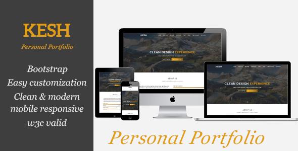 KESH - Personal Portfolio            TFx