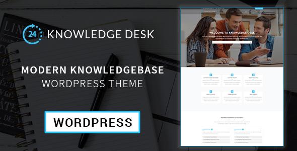 Knowledgedesk - Knowledge Base WordPress Theme            TFx