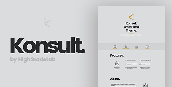 Konsult - Business Consulting & Finance WordPress Theme            TFx