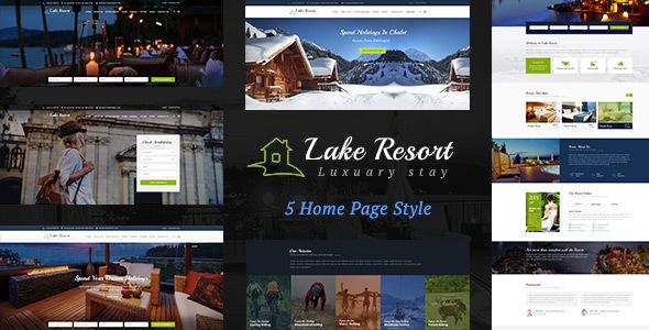 Lake Resort : Resort and Hotel WordPress Theme            TFx