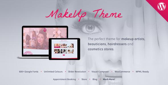 MakeUp | Makeup & Beauty WordPress Theme            TFx