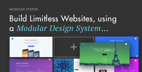 Modular Multi-Purpose Responsive WordPress Theme            TFx