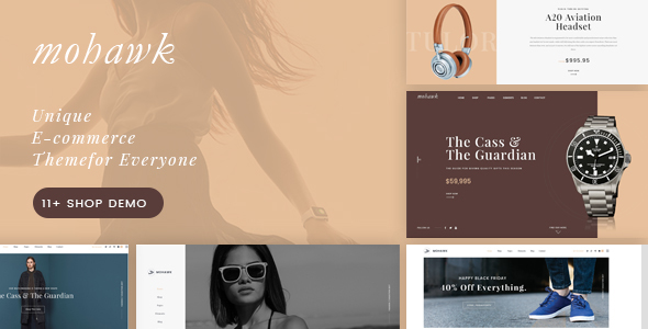 Mohawk - Multipurpose WooCommerce WordPress Theme            TFx