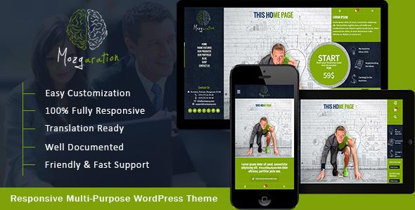Mozgaration - Responsive Multi-Purpose WordPress Theme            TFx