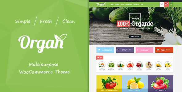 Organ - Multipurpose WooCommerce Theme            TFx