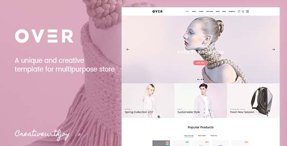 Over - Multi-Purpose eCommerce PSD Template            TFx