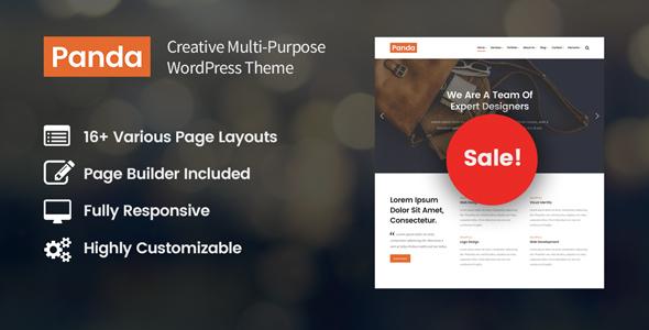 Panda - Creative Multi-Purpose WordPress Theme            TFx