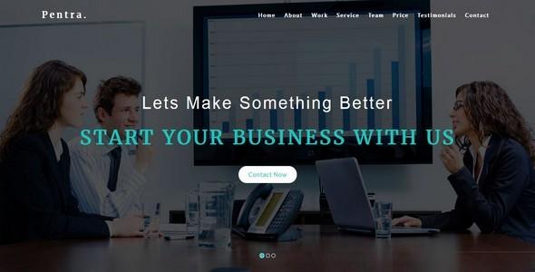 Pentra-Multipurpose Corporate HTML5 Template            TFx
