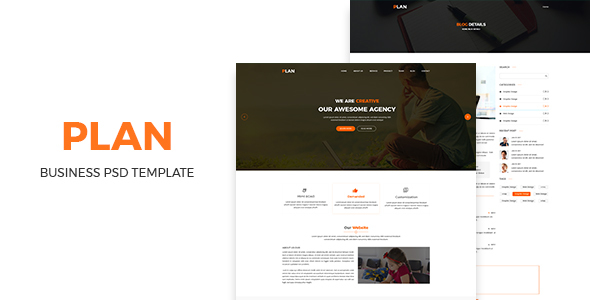 Plan- Bussiness PSD Template            TFx