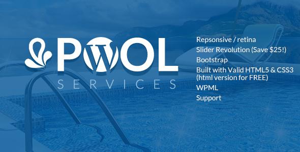Pool Services WordPress Theme            TFx