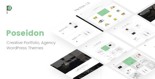 Poseidon   Creative Portfolio - Agency WordPress Theme            TFx