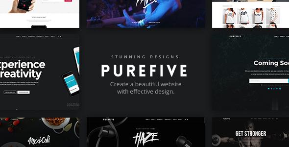 Purefive - Multipurpose WordPress Theme            TFx