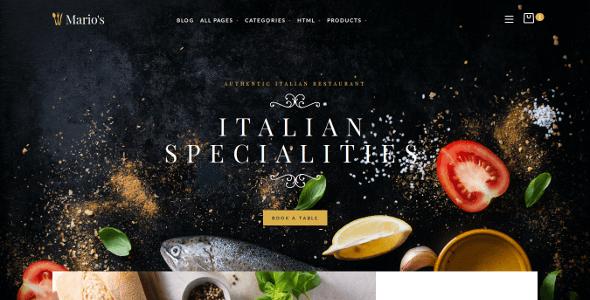 Restaurant Opencart Theme            TFx