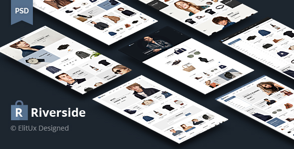 Riverside - Fashion Ecommerce PSD Template            TFx