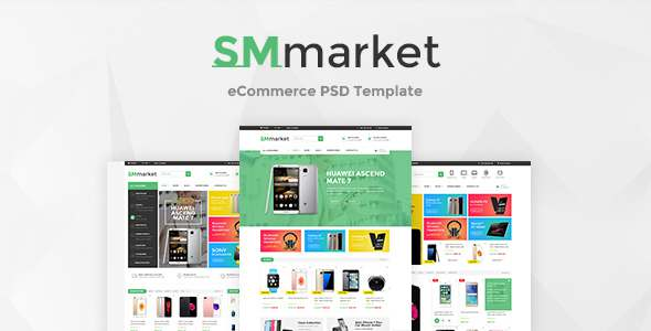 SMmarket - Ecommerce PSD Template            TFx