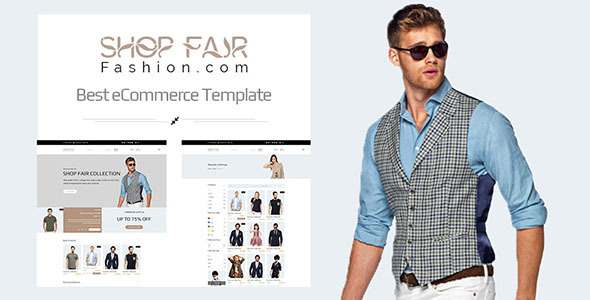 Shopfair - eCommerce PSD Template            TFx
